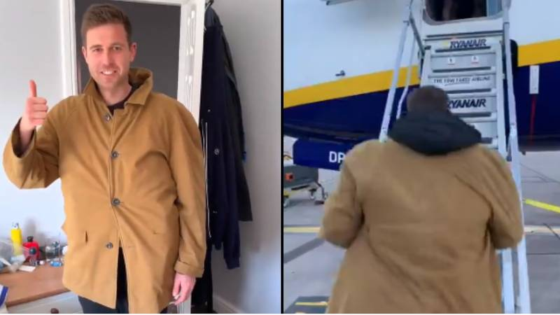 Man Finds Amazing Way Around New Ryanair Baggage Restrictions