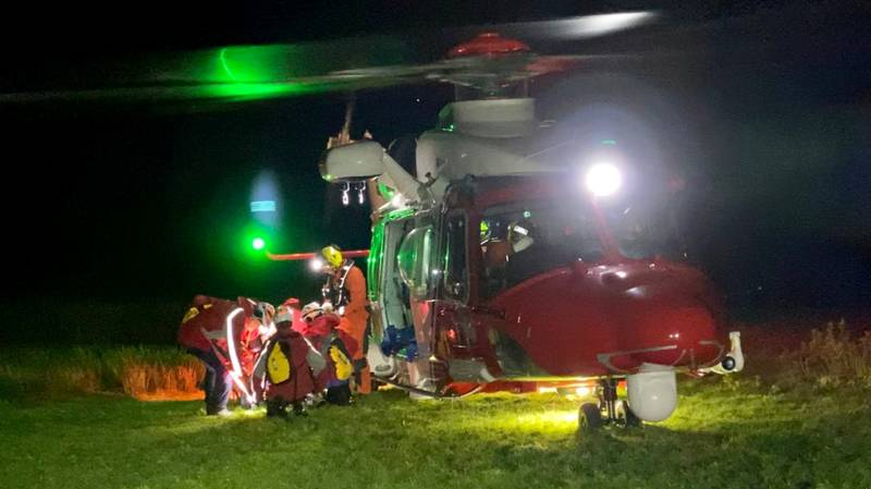 Mountain Climbing Couple On Second Date Rescued In Five-Hour Mission