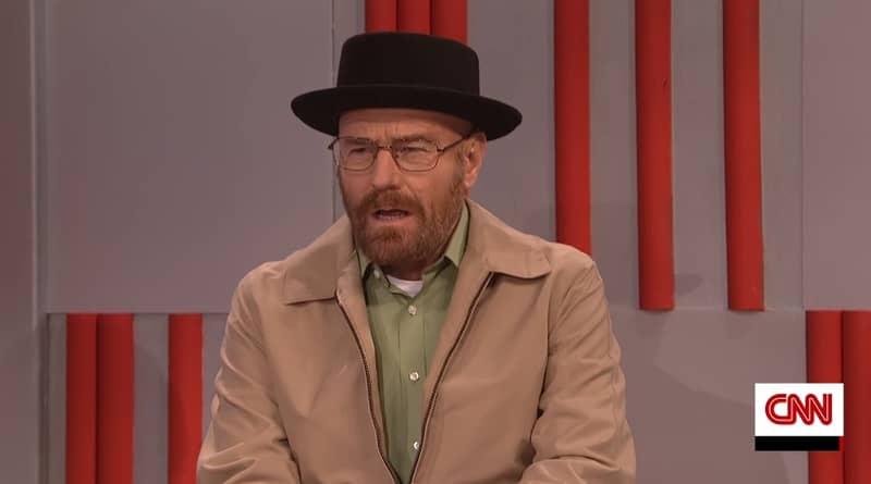 Walter White Returns On 'SNL' As Trump's Head Of DEA