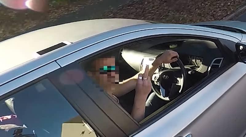 Kind-Hearted Biker Returns Guy's Wallet But Gets Flipped Off