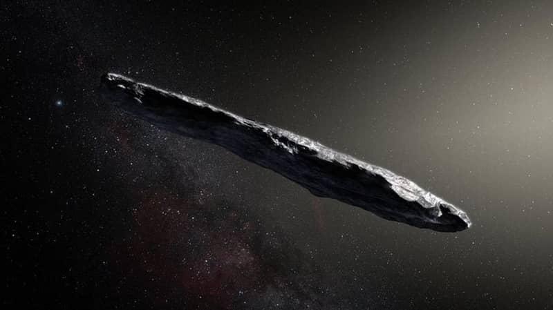 Harvard Professor Believes Alien Junk Visited Our Solar System In 2017