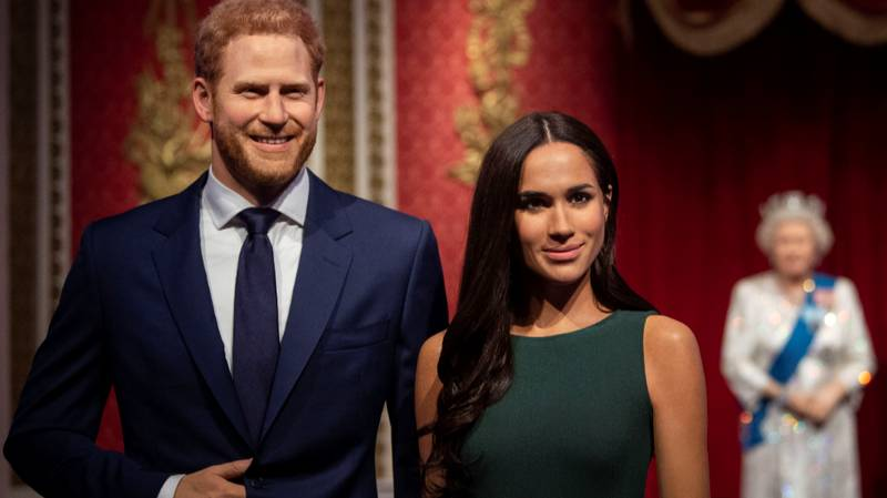 Madame Tussauds Removes Harry And Meghan From Royal Family Set