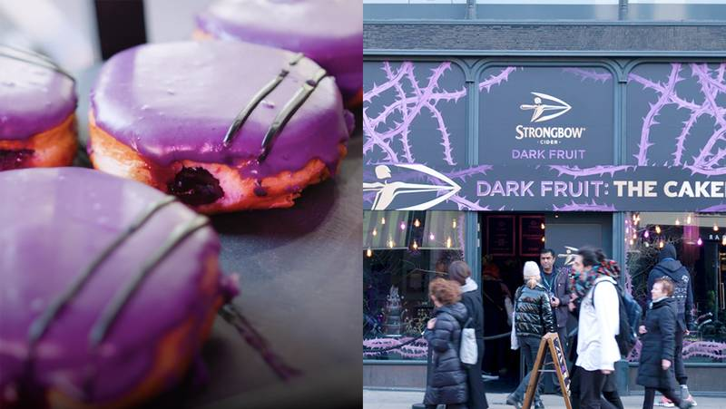 Strongbow Dark Fruit Opened Its Very Own Bakery (For One Day Only)