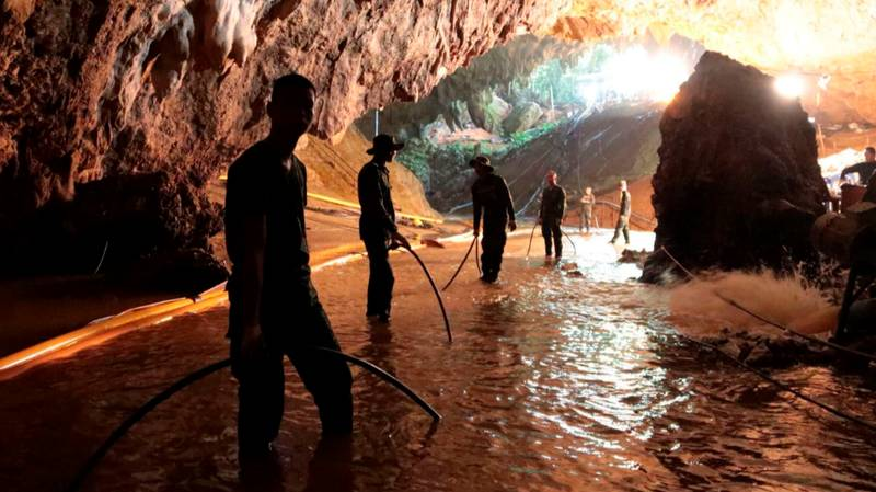 First Two Boys Reportedly Brought Out From Thai Cave