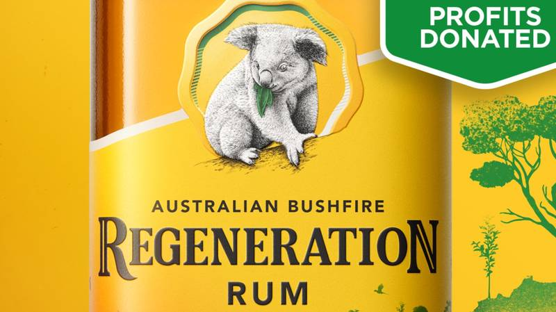 Bundaberg Rum Releases Limited Edition Bottle To Raise Money For Bushfire Affected Animals