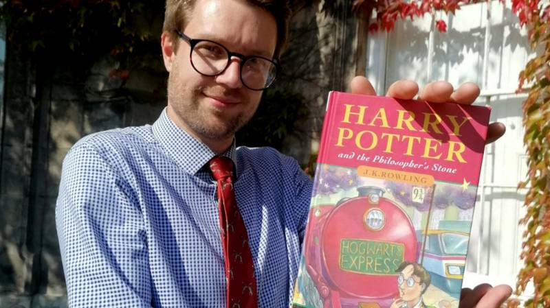 Dad Stunned To Discover Harry Potter Book Could Be Worth £50,000