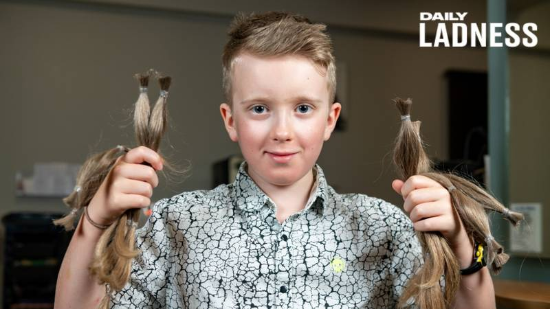 Boy, 10, Cuts Off His Long Hair And Donates It Charity