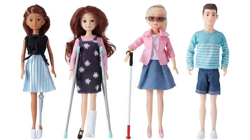 Kmart Praised For Selling Dolls With Disabilities