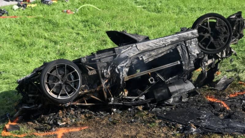 Eyewitness Describes Moment Richard Hammond's Car Door 'Ripped Off'