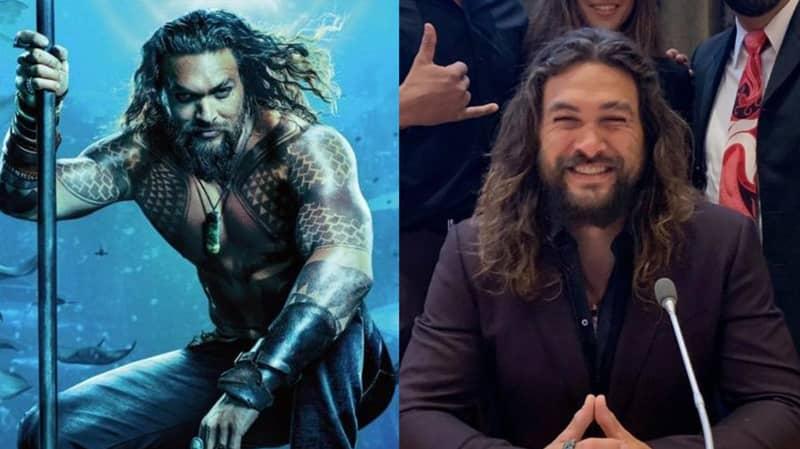 Jason 'Aquaman' Momoa Joins The Fight Against Climate Change