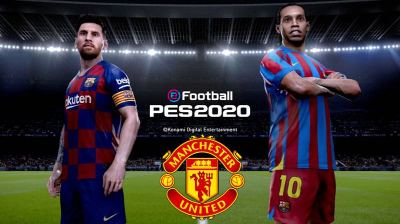 Scott McTominay and Lionel Messi Are PES 2020 Cover Stars