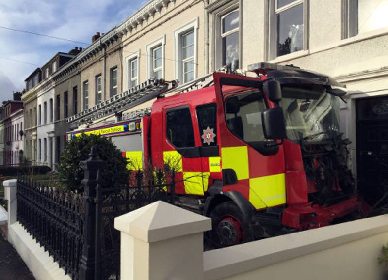 Pensioner Gets Arrested For Going On GTA Rampage In A Fire Engine