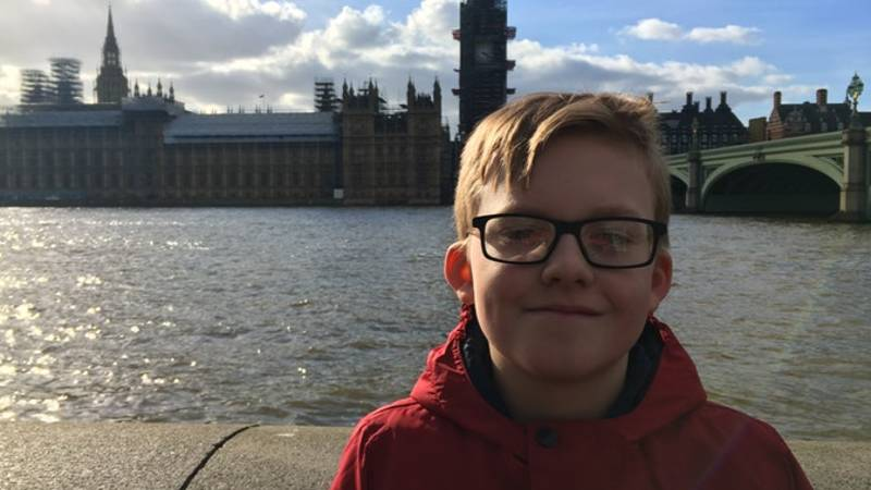 Twelve-Year-Old Deaf Boy Trying To Make Sign Language A GCSE Subject
