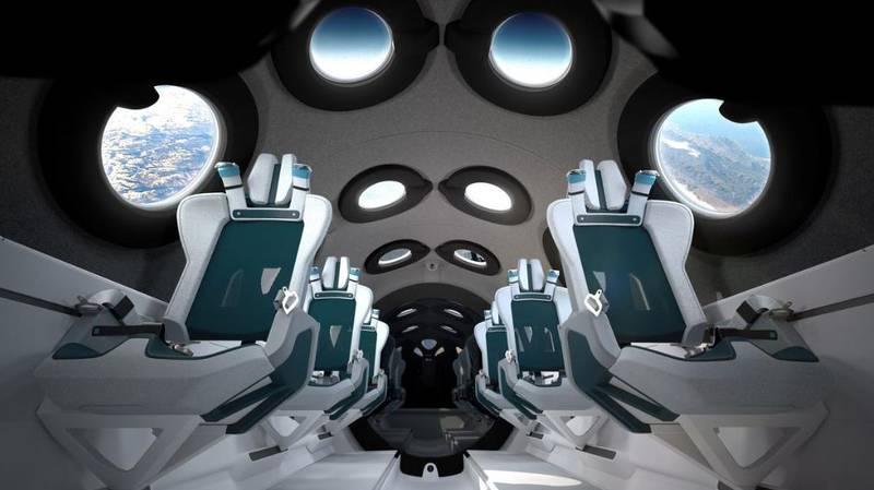 Virgin Galactic Shows Off New Space Plane's Cabin