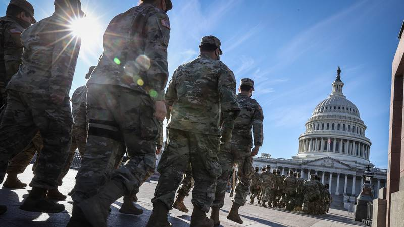 More Than 100 National Guard Deployed To Washington, D.C. Test Positive For Covid