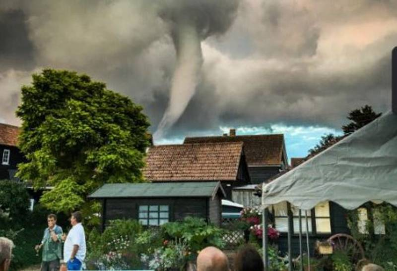 A Tornado Circled A Suffolk Village Pub On Saturday Night And Britishness Happened