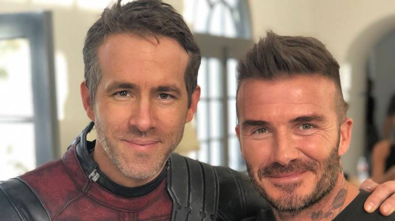 ​Ryan Reynolds Thanks David Beckham For Appearing In Latest 'Deadpool' Sketch