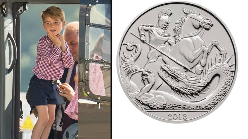 Prince George Has Had His Own Coin Made For His Fifth Birthday