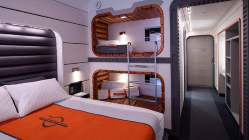 Walt Disney World Offers First Look At Star Wars Hotel Rooms