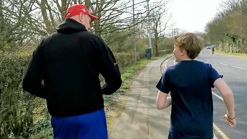 Tyson Fury Fan Wanting A Photo Ended Up Going On A Jog With Him