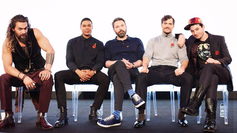 Justice League Superheroes Talk Weird Britain, Bulking Up And The Batmobile