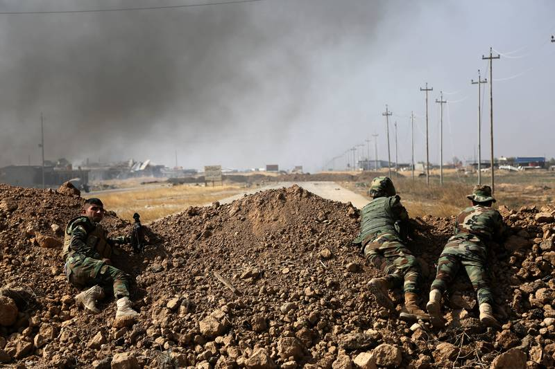 The 'Apocalyptic' Fight To Reclaim Mosul From IS Has Begun
