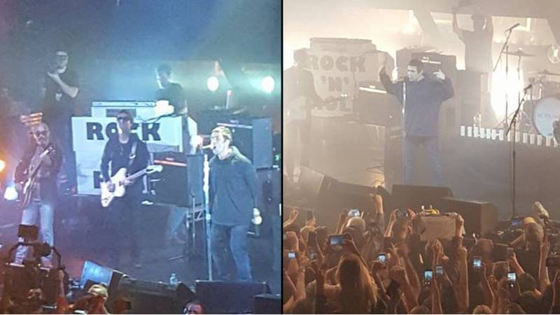 ​Original Oasis Member Reunites With Liam Gallagher For First 'Solo' Gig