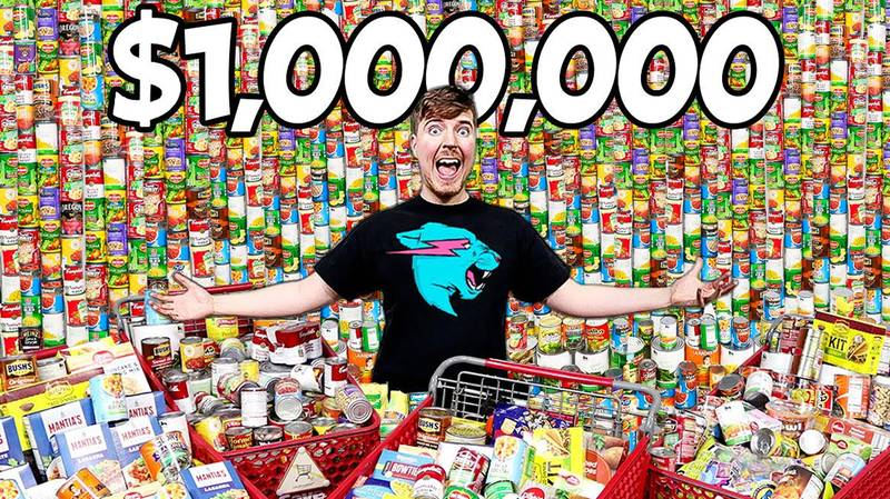 YouTuber Mr Beast Donates $1million Worth Of Essentials To Food Banks