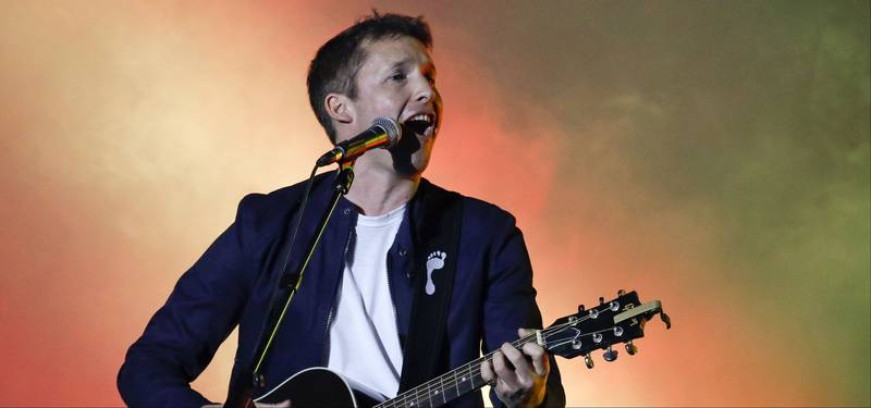 James Blunt Has A Horrifying Warning For 2017
