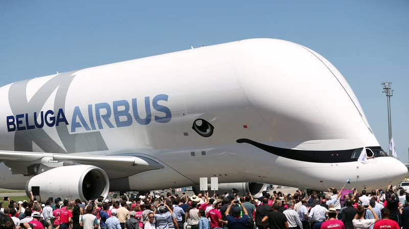 Airbus Launch New Beluga XL Plane That Looks Like A Whale