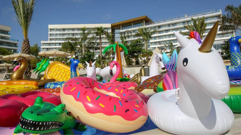 Spanish Hotel Sets Up 'Sanctuary' For Abandoned Inflatables