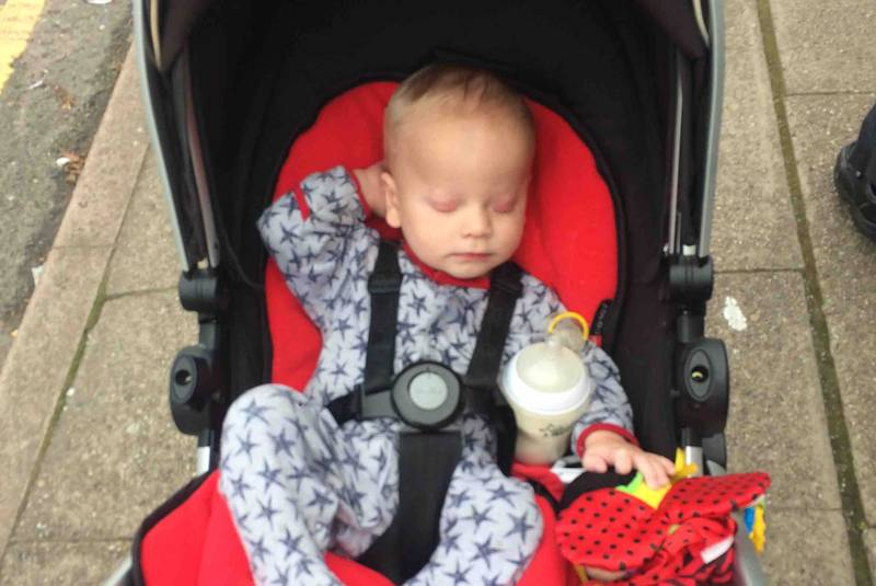 Parents Launch Fundraising Appeal For Little Lad Born Without Eyes