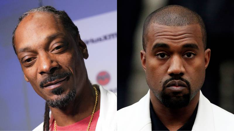 Snoop Dogg Shares Photoshopped Image Of New 'All White' Kanye
