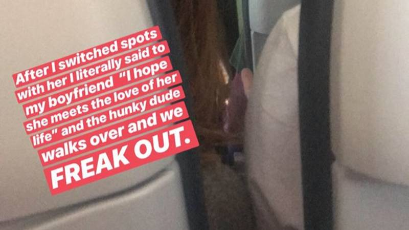 A Real Life Hollywood Romance Just Happened On A Plane And It Was Live-Tweeted