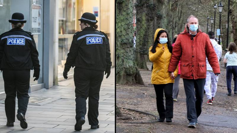 Police To Fine Brits First Time They're Caught Without A Mask