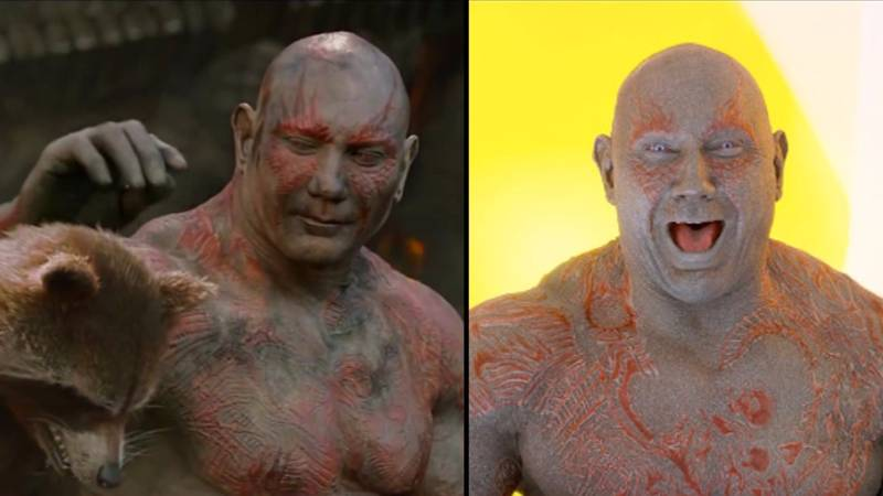 Guardians Of The Galaxy's Drax Is A Role Model For Autistic Boy