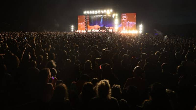 New Zealanders Attend Largest Concert Since Pandemic Began