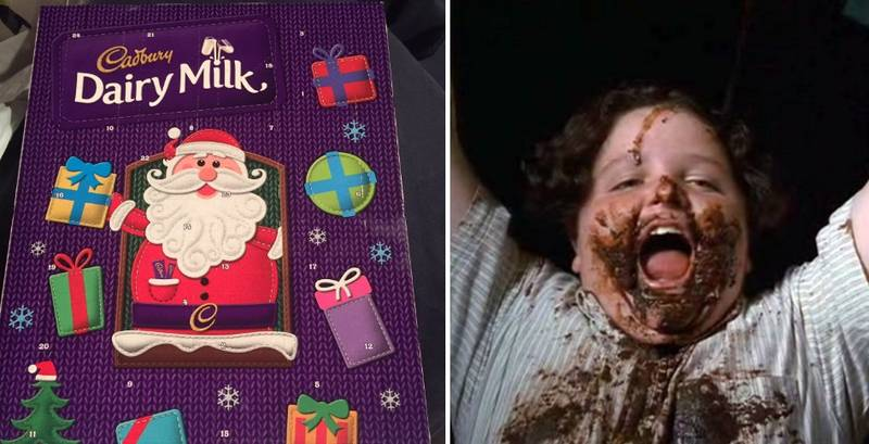 There's A Reason Why Advent Calendar Chocolate Tastes So Different