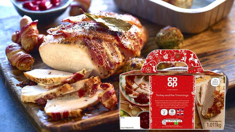 This Pre-Packaged Christmas Dinner For Two Is A Really Genius Idea