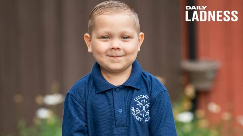 Four-Year-Old Boy Who Has Beaten Leukaemia Twice Starts School