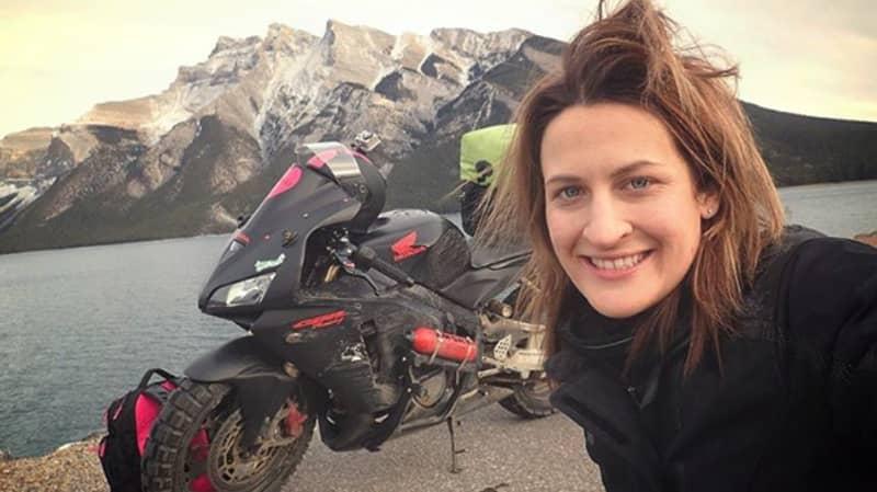 Woman Is Motorbiking Across The World After Ex-Boyfriend Said It Was 'Too Dangerous'