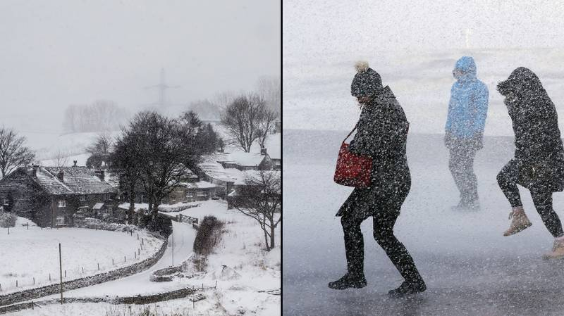 UK Forecast To Get Snow And Sub-Zero Temperatures Next Week