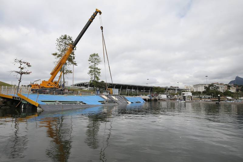 Main Ramp At Rio 2016 Sailing Venue Collapses Along With Faith In Games' Success