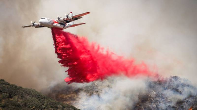 US Firefighting Agency Pays Tribute To Three Firefighters Who Died In Waterbombing Aircraft Crash