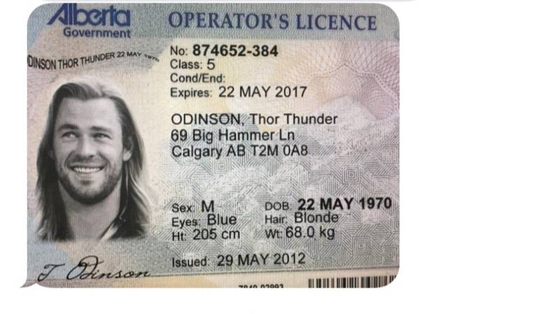 Someone Attempted To Use Fake ID Of Marvel's Thor To Buy Weed Online