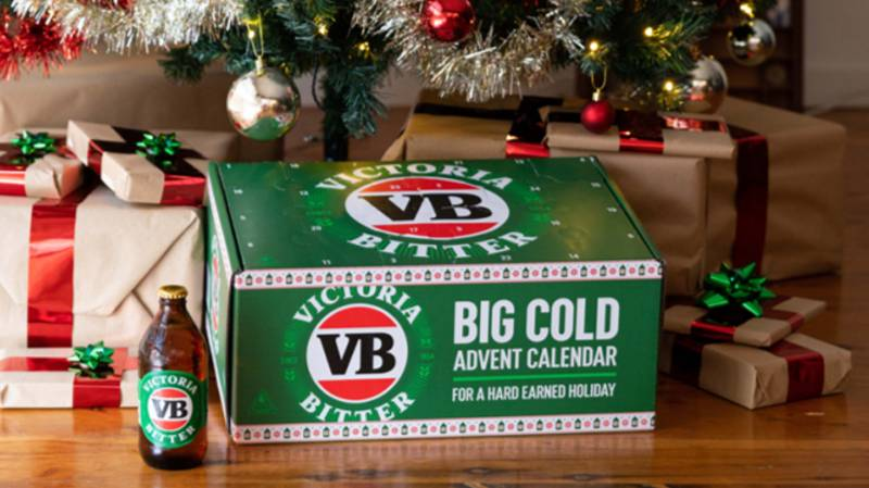 Victoria Bitter Has Released A Beer-Themed Christmas Advent Calendar