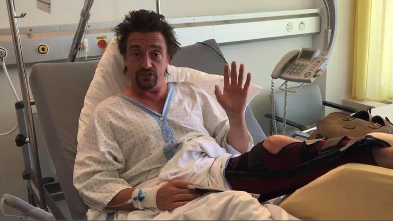 Richard Hammond Opens Up About His S**t-Scary 'Grand Tour' Crash