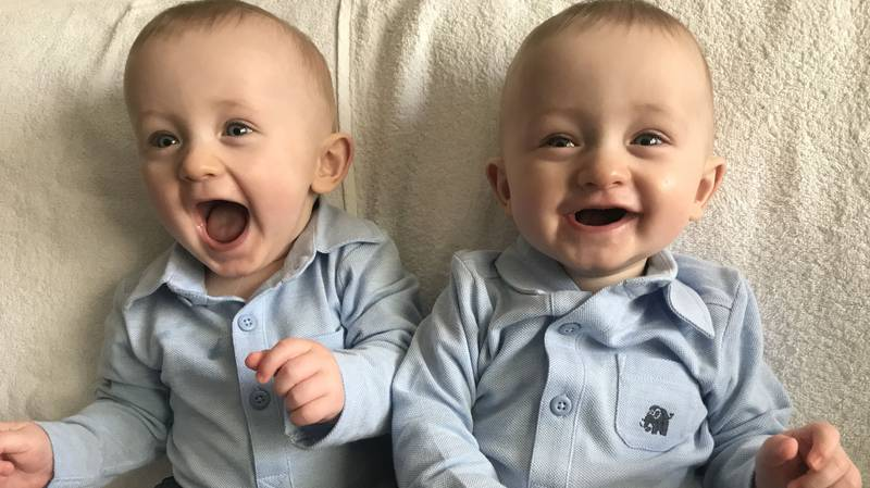 Mum Catches Her Twin Boys Hugging Before Going Down For Their Afternoon Nap