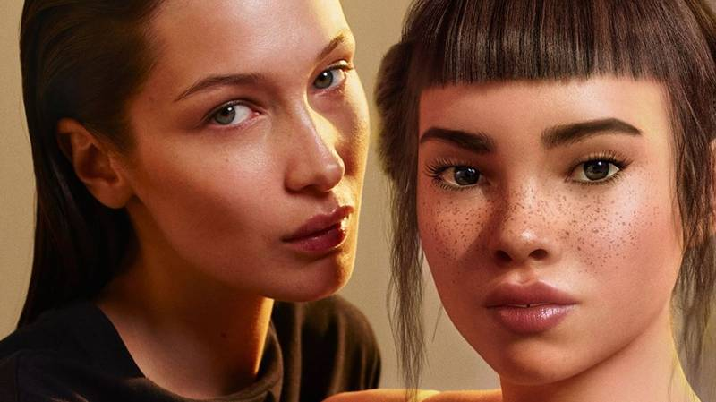 Calvin Klein Apologises For Advert Showing Bella Hadid Kissing Computer-Generated Model