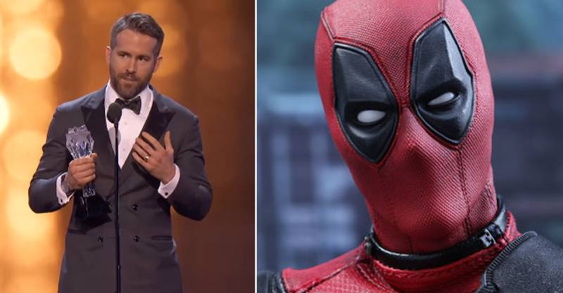 Ryan Reynolds Gives Acceptance Speech Deadpool Would Have Wanted